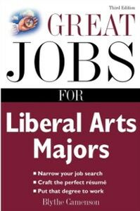 Ebook in inglese Great Jobs for Liberal Arts Majors Camenson, Blythe
