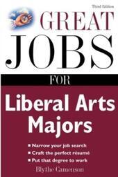 Great Jobs for Liberal Arts Majors