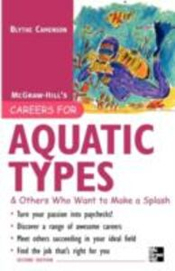 Ebook in inglese Careers for Aquatic Types & Others Who Want to Make a Splash Camenson, Blythe