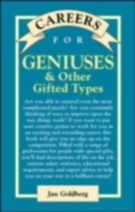 Ebook in inglese Careers for Geniuses & Other Gifted Types Goldberg, Jan