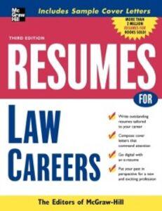 Foto Cover di Resumes for Law Careers, Ebook inglese di McGraw-Hill Education, edito da McGraw-Hill Education