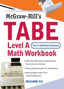 Ebook in inglese TABE (Test of Adult Basic Education) Level A Math Workbook Ku, Richard