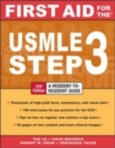 Ebook in inglese First Aid for the USMLE Step 3, Second Edition Bhushan, Vikas , Grow, Robert W. , Le, Tao , Tache, Veronique