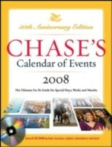 Foto Cover di Chase's Calendar of Events 2008, Ebook inglese di The Editors of Chase's, edito da McGraw-Hill Education