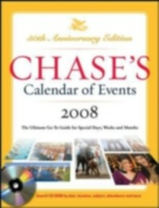 Ebook in inglese Chase's Calendar of Events 2008 Chase's, The Editors of