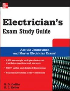 Ebook in inglese Electrician's Exam Study Guide Coffin, Brian , Keller, Kimberley