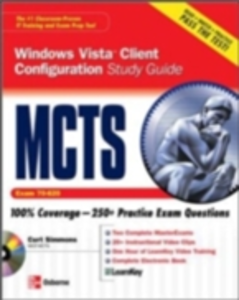 Ebook in inglese MCTS Windows Vista Client Configuration Study Guide (Exam 70-620) Simmons, Curt