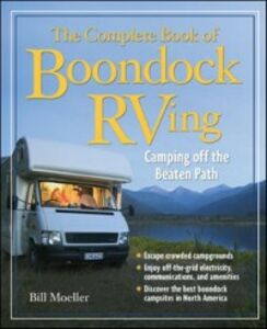 Ebook in inglese Complete Book of Boondock RVing Moeller, Bill