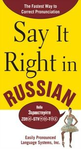 Ebook in inglese Say It Right in Russian EPLS