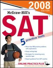 McGraw-Hill's SAT, 2008 Edition book only