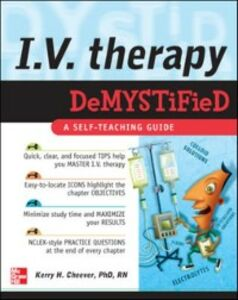 Ebook in inglese IV Therapy Demystified Cheever, Kerry