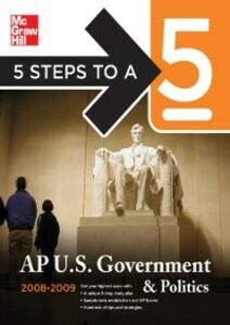 Ebook in inglese 5 Steps to a 5 AP U.S. Government and Politics, 2008-2009 Edition Lamb, Pamela K.