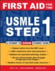 Foto Cover di First Aid for the USMLE Step 1: 2008, Ebook inglese di AA.VV edito da McGraw-Hill Education