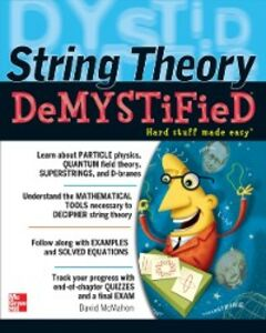 Ebook in inglese String Theory Demystified McMahon, David