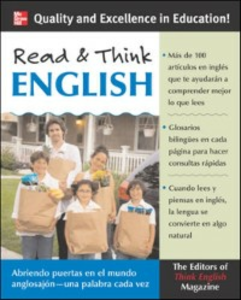 Ebook in inglese Read & Think English (Book Only) magazine, The Editors of Think English!