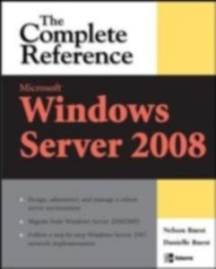 Ebook in inglese Microsoft Windows Server 2008: The Complete Reference Ruest, Danielle , Ruest, Nelson
