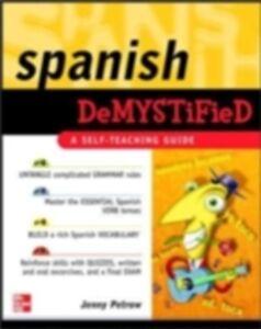 Foto Cover di Spanish Demystified, Ebook inglese di Jenny Petrow, edito da McGraw-Hill Education