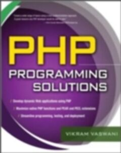Ebook in inglese PHP Programming Solutions Vaswani, Vikram