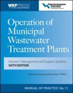 Ebook in inglese Operation of Municipal Wastewater Treatment Plants Federation, Water Environment