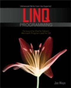 Ebook in inglese LINQ Programming Mayo, Joe