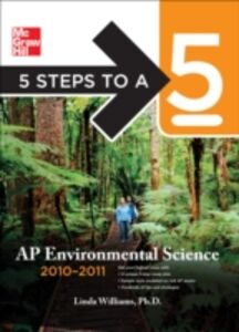 Ebook in inglese 5 Steps to a 5 AP Environmental Science, 2010-2011 Edition Williams, Linda D.