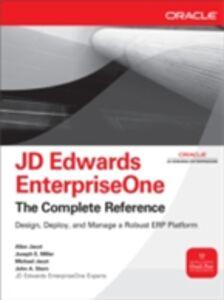 Foto Cover di JD Edwards EnterpriseOne, The Complete Reference, Ebook inglese di AA.VV edito da McGraw-Hill Education