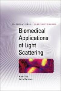 Biomedical Applications of Light Scattering - Adam Wax,Vadim Backman - cover