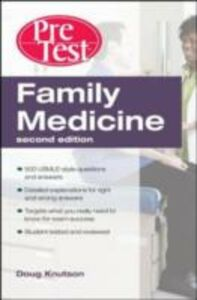 Ebook in inglese Family Medicine PreTest Self-Assessment & Review, Second Edition Knutson, Doug