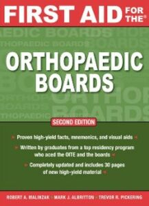Foto Cover di First Aid for the Orthopaedic Boards, Second Edition, Ebook inglese di AA.VV edito da McGraw-Hill Education