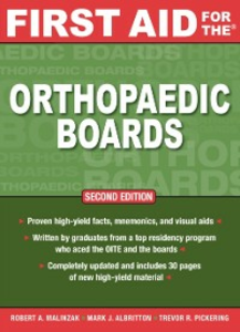 Ebook in inglese First Aid for the Orthopaedic Boards, Second Edition Albritton, Mark , Malinzak, Robert , Pickering, Trevor
