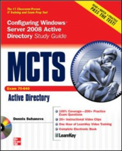 Ebook in inglese MCTS Windows Server 2008 Active Directory Services Study Guide (Exam 70-640) (SET) Suhanovs, Dennis
