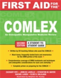 Ebook in inglese First Aid for the COMLEX, Second Edition Halajian, Elise , Lavelle, John , Laven, Rachel , Mayer, Stockton