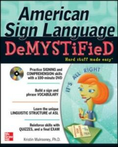 Ebook in inglese American Sign Language Demystified with DVD Mulrooney, Dr. Kristin