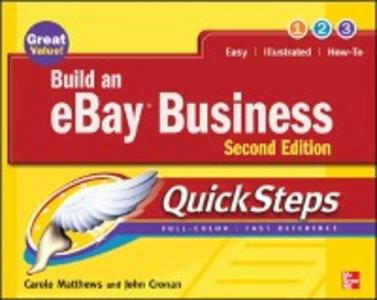 Ebook in inglese Build an eBay Business QuickSteps Cronan, John , Matthews, Carole
