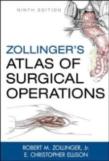 Zollinger's atlas of surgical operations - Robert M. jr. Zollinger - copertina