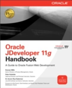Foto Cover di Oracle JDeveloper 11g Handbook, Ebook inglese di AA.VV edito da McGraw-Hill Education