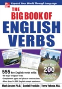Ebook in inglese Big Book of English Verbs Franklin, Daniel , Lester, Mark , Yokota, Terry