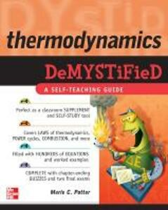Thermodynamics DeMYSTiFied - Merle Potter - cover