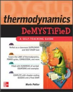 Ebook in inglese Thermodynamics DeMYSTiFied Potter, Merle