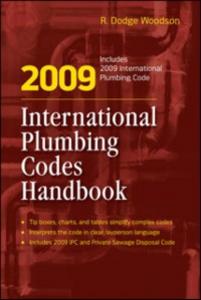Ebook in inglese 2009 International Plumbing Codes Handbook Woodson, R.