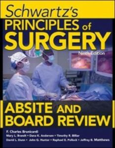 Ebook in inglese Schwartz's Principles of Surgery ABSITE and Board Review, Ninth Edition Andersen, Dana , Billiar, Timothy , Brandt, Mary , Brunicardi, F.