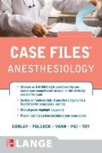 Case files anesthesiology - copertina