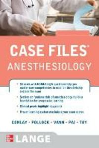 Libro Case files anesthesiology