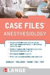 Libro Case files anesthesiology