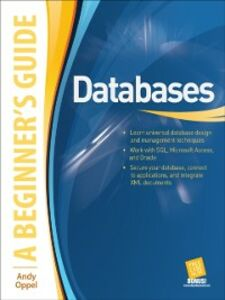 Ebook in inglese Databases A Beginner's Guide Oppel, Andy