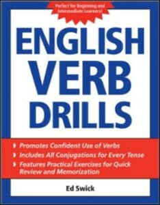 Ebook in inglese English Verb Drills Swick, Ed