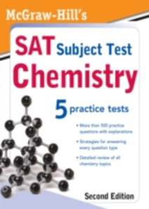 Ebook in inglese McGraw-Hill's SAT Subject Test: Chemistry, 2ed Evangelist, Thomas