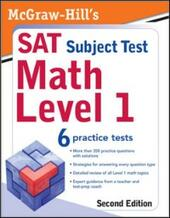 McGraw-Hill's SAT Subject Test: Math Level 1, 2/E