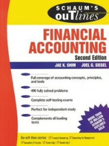 Ebook in inglese Schaum's Outline of Financial Accounting 2 Ed. Shim, Jae