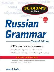 Libro Schaum's outline of russian grammar James S. Levine